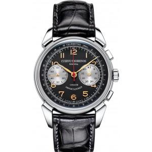Pánske hodinky_CyS Historiador Landeron Crono 1946_Dom hodín MAX