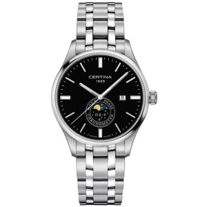 Pánske hodinky_Certina C033.457.11.051.00 DS 8 MOON PHASE COSC_Dom hodín MAX